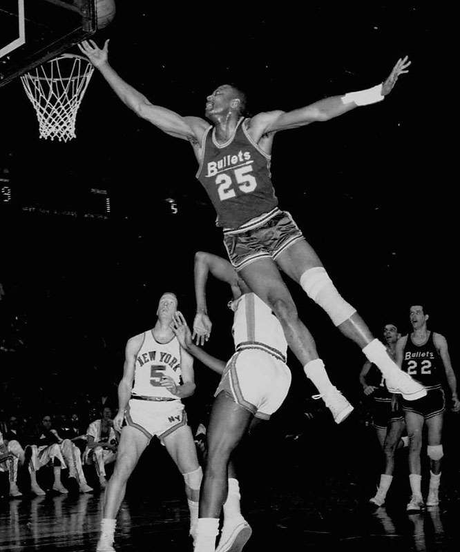 Long considered a prototype of the modern NBA player, Johnson earned the nickname Honeycomb at the University of Idaho due to his sweet style of play. One of the first players to adopt the dunk as a regularly used weapon, the swingman shattered three backboards during his decadelong NBA career.
