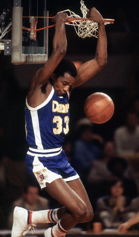Nicknamed Skywalker thanks to his alleged 48-inch vertical leap, Thompson popularized the alley-oop during his legendary collegiate career at North Carolina State. To this day, the swingman often gets credited (erroneously) with the play's invention.