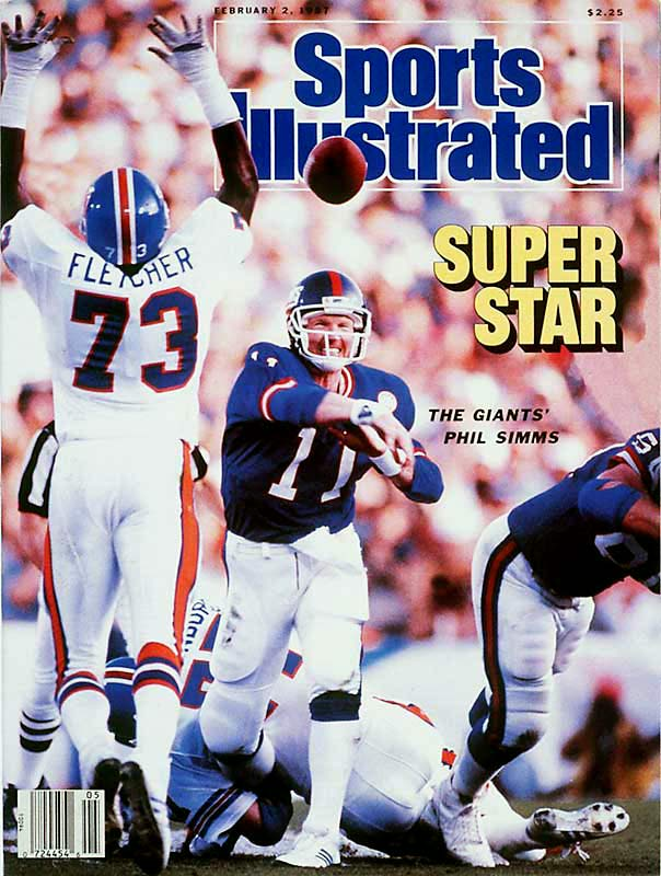 Simms set the Super Bowl standard for passing precision with his surgical display in a 39-20 victory over Denver. The New York signal-caller completed 22 of his 25 pass attempts -- a freakish 88 percent clip -- to help the Giants to a 39-20 victory over the Broncos.
