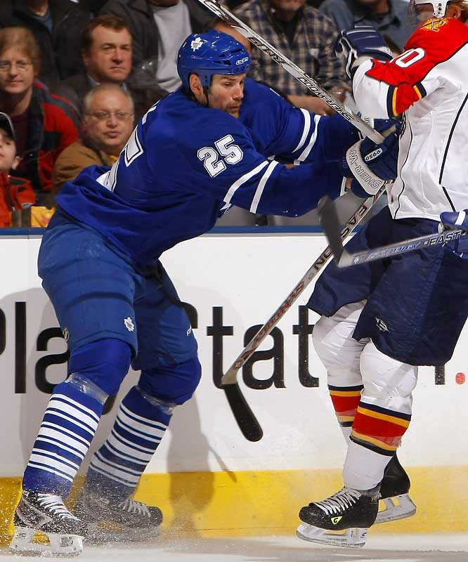 "Pittsburgh picked up the 6' 7"" Hal Gill from the Maple Leafs for draft choices, a nifty addition particularly if the Penguins meet the New York Rangers in the first round - a distinct possibility. Gill is not especially talented, but he is exceedingly tall. He uses his size and leverage to make life miserable for some forwards, notably Rangers star Jaromir Jagr, whom Gill has bedeviled over the years."
