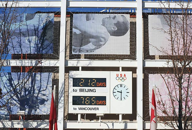 A bit of motivation for the Olympians-in-training: a countdown to the upcoming Olympics.