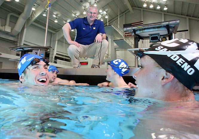The Wolverines may be famous for football, but Michigan also boasts some of the top swimmers in the country under coach Bob Bowman. The name Michael Phelps ring a bell?
