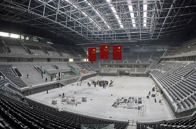 The National Indoor Stadium will be home to gymnastics and handball competition.