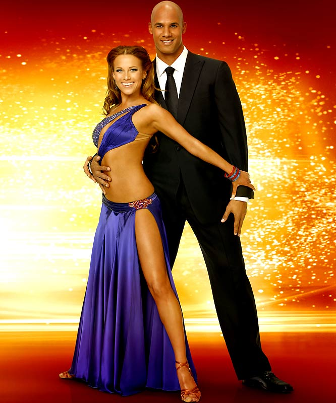 "We couldn't figure out why the Dolphins' Jason Taylor would want to appear on ""Dancing with the Stars,"" but after seeing his partner, Edyta Sliwinska, we understand."