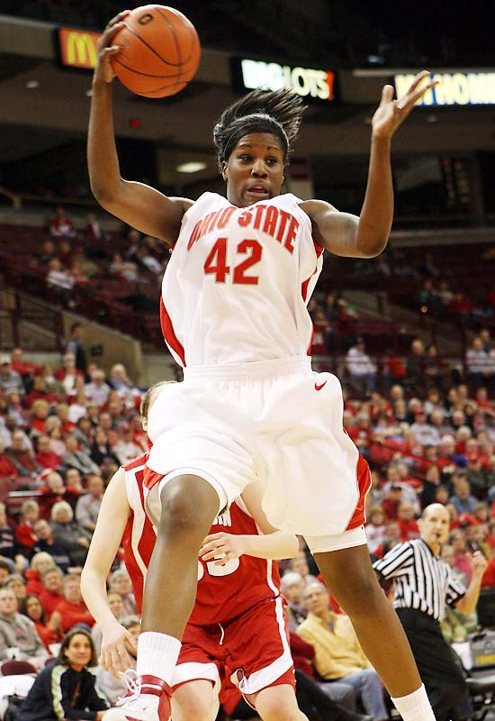 The freshman picked a good time for her coming out party -- a game against perennial Big Ten rival Penn State.  In the Buckeyes three-point win, Lavender put up a career-high 36 points.