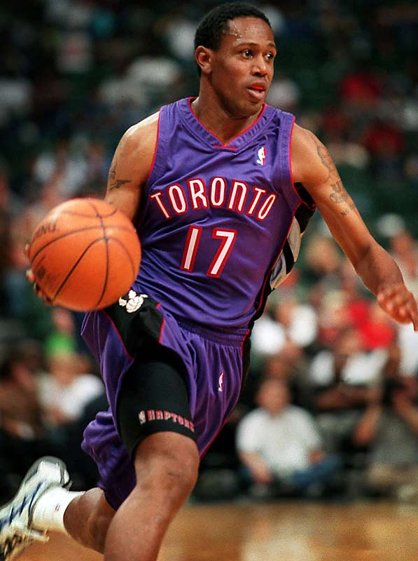Percy Miller (a.k.a. -- Master P) signed contracts with both the Charlotte Hornets and Toronto Raptors, but never appeared in a regular-season game. His son, Romeo, will suit up for USC next year on a basketball scholarship.
