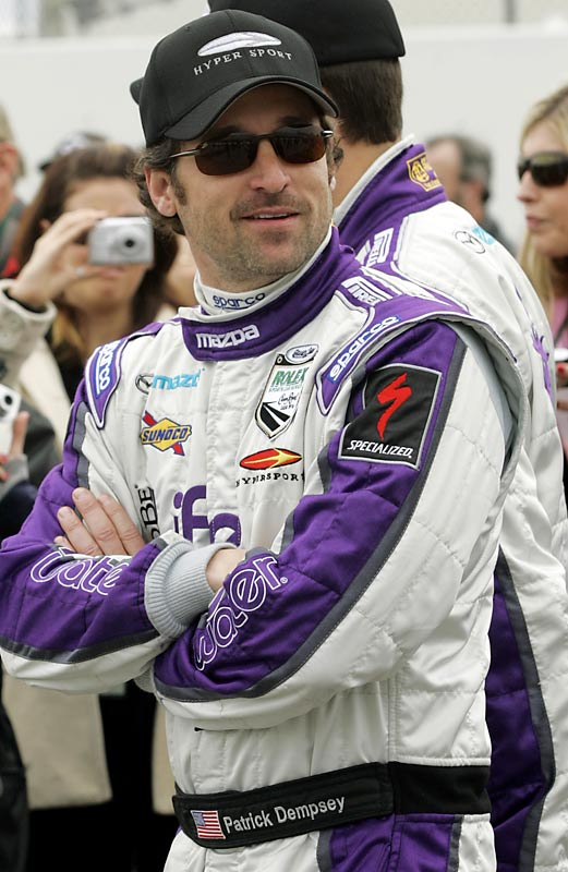 When he's not making women swoon as <i>Grey's Anatomy</i>'s McDreamy, Patrick Dempsey spends his time on the racing track. He has driven the pace car in the Indianapolis 500, raced in the Rolex 24 at Daytona currently is a co-owner of IndyCar Series team Vision Racing.