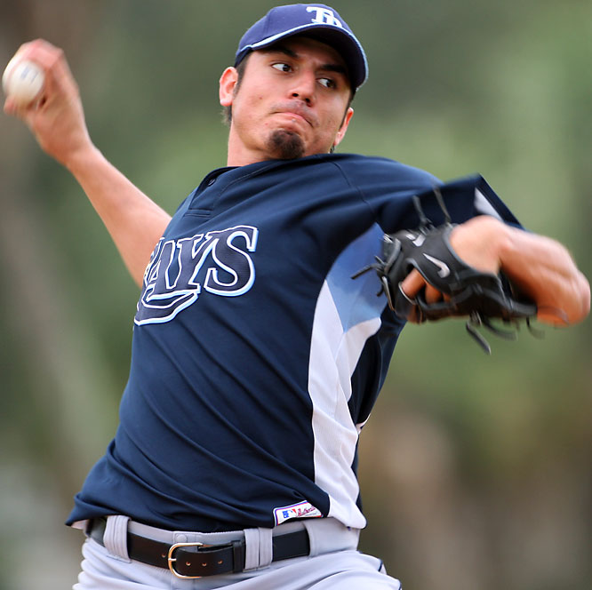 In 2006, Garza pitched in four levels of the Twins' organization, including the big leagues. He was traded to the Devil Rays for outfielder Delmon Young in the offseason and will be in the Rays' starting rotation.