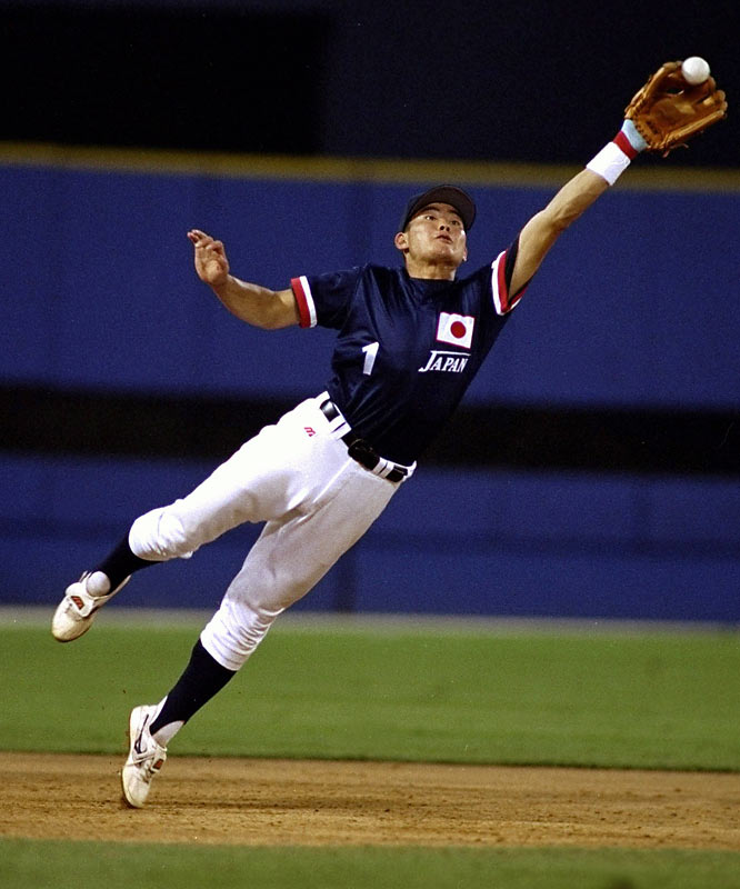 Fukudome's claim to fame: He became the youngest baseball Olympian ever when he played for silver medalist Japan at the ripe old age of 19. Eight years later in Greece, he added a bronze to his collection.