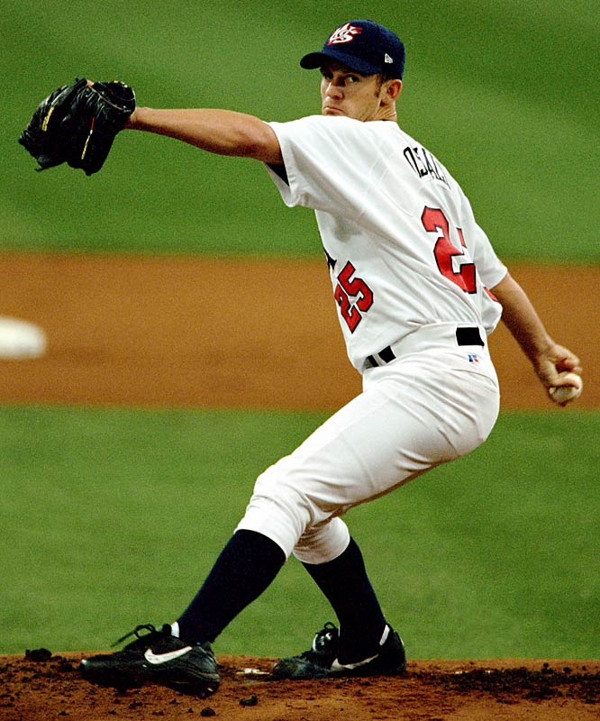 Oswalt pitched the Americans past South Korea, 3-2 in the semifinals.