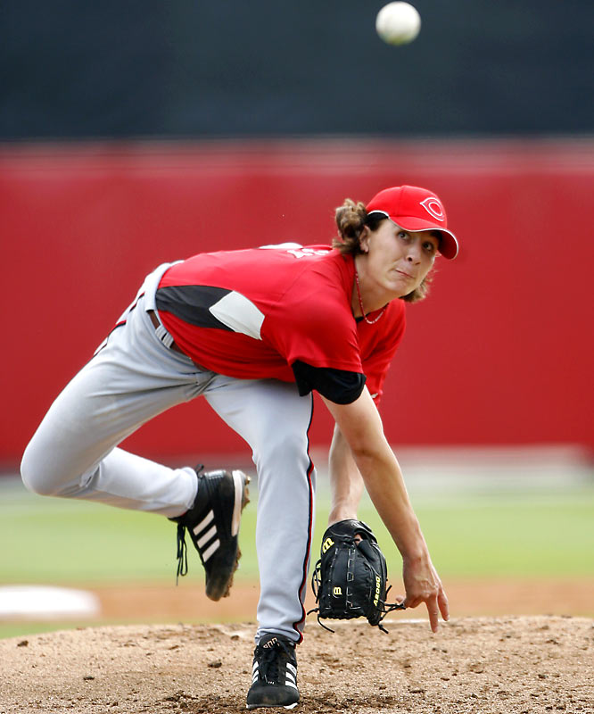 The seventh-overall pick in the 2004 draft is intimidating just to look at: 6-foot-4, 205 pounds. Add his 97-mph fastball and a diverse repertoire of pitches, and it's clear Bailey gives the Reds their best young pitching prospect in years.