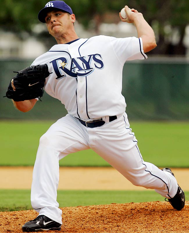 Kazmir has the makings of a big-time winner. Last season he went 13-9 with a 3.48 ERA and 239 strikeouts for a Rays team that won only 66 games. With more defensive support behind him he could blossom into a 20-game winner in 2008.