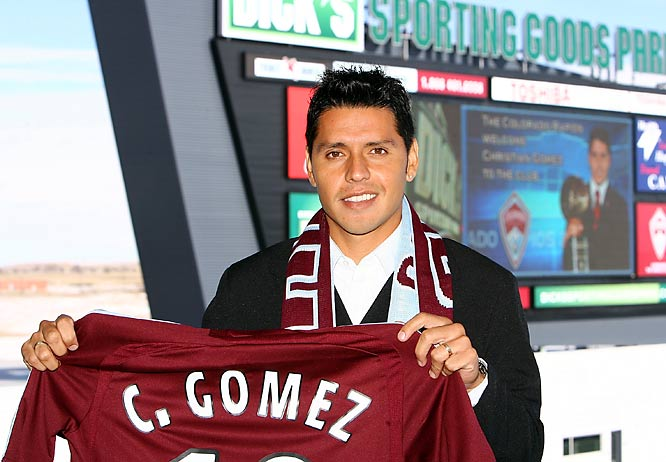D.C. unceremoniously shipped the '06 MLS MVP out to the Rockies to make room for Argentine star Marcelo Gallardo. Now, Gómez is on a mission to prove United screwed up. Problem is, Colorado doesn't have the type of marksmen who made Gómez look so good in D.C.
