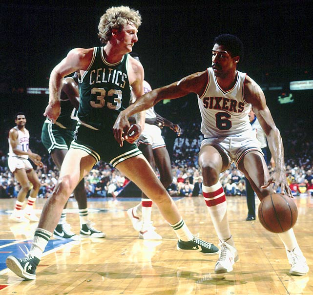 The streak was part of the Celtics' league-best 63-19 season, but Larry Bird & Co. missed a chance to repeat as NBA champions when they lost in the Eastern Conference finals to the Julius Erving-led 76ers.
