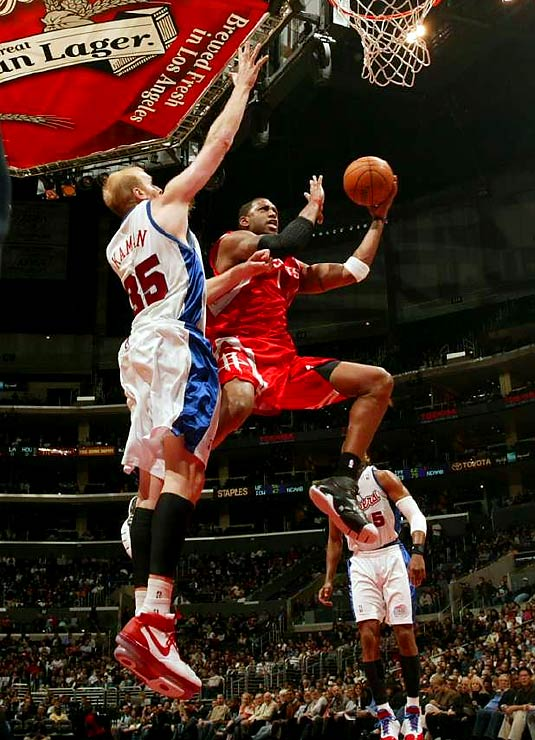 A 15-17 start certainly didn't suggest the Rockets were capable of putting together a dominant run. But with complementary players like Rafer Alston and rookie forwards Luis Scola and Carl Landry supporting stars Tracy McGrady (pictured) and Yao Ming (before he got hurt), the Rockets went unbeaten for seven weeks. And they sustained the streak even after losing Yao (foot surgery) for the season 12 games into it. The streak was snapped March 18 in a 94-74 home loss to the Celtics.