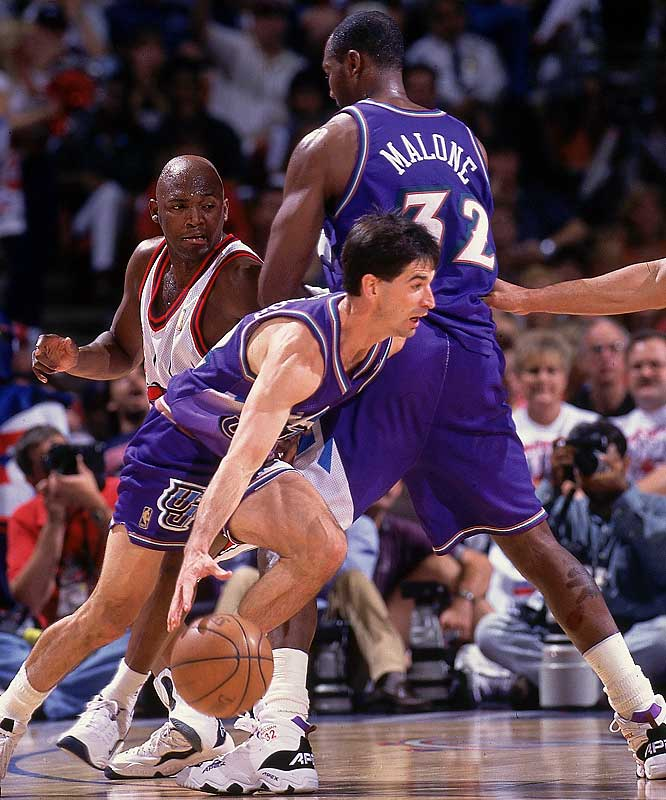 John Stockton and Karl Malone pick-and-rolled the Jazz to a pair of 15-game unbeaten streaks, the first one from Nov. 13 to Dec. 10, 1996, and the second one a season later.
