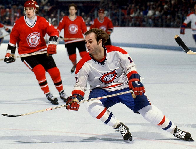 1977-78: <i>60</i> in 78 games <br><br>Montreal's famed Flower, who once scored 130 goals in  62 games in the Quebec Major Junior Hockey League, netted his NHL career-high 60 in 1977-78 during a run of four straight Stanley Cups from 1975-79. It was also the high point of his six successive 50  goal seasons.