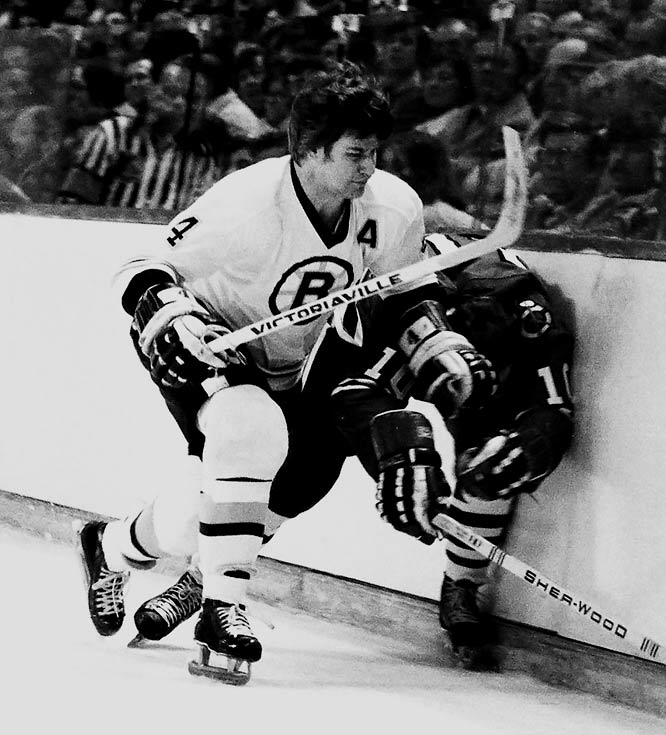 Though his offensive exploits made headlines, Orr's defensive prowess was second to none. Unafraid of the physical game (or a fight) and able to use his speed to foil opponents' rushes, he won a record eight consecutive Norris Trophies, beginning with the 1967-68 season.
