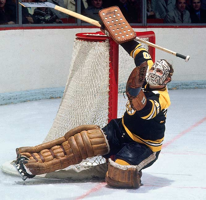 Cheesy was between the pipes for a record 32 consecutive games without a loss for the 1971-72 Stanley Cup champion Bruins. The longest outright winning streak (17 games) is held by another Bruin: Gilles Gilbert, 1975-76.