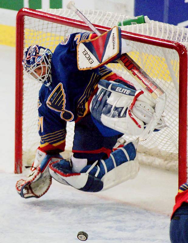 In 1995-96 workhorse Fuhr played in a record 79 of the St. Louis Blues' 82 games. The 1988 Vezina Tropy-winner also holds the mark for points scored by a goaltender in one season (14), set while backstopping the offensive superpower Edmonton Oilers in 1983-84.