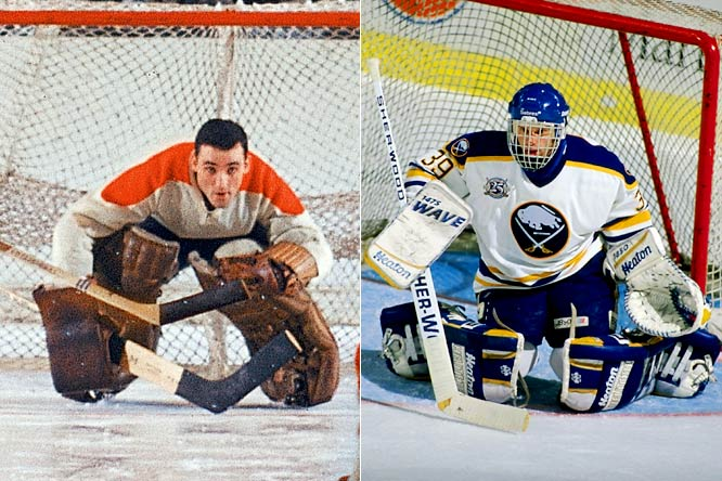 Hall of Famer Plante, who popularized the goalie mask, won a record seven Vezina Trophies between 1956 and '69. Originally awarded to the goaltenders on the team that surrendered the fewest goals, the criteria was changed in 1982 to the best netminder as adjudged by the NHL's general managers. Since then Hasek has won the trophy six times.