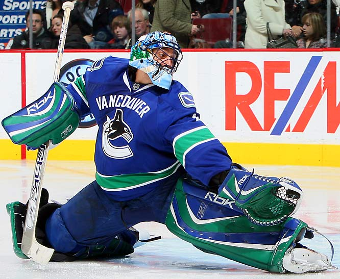 It's often said that as goes Luongo, so go the Canucks. That's certainly true now. To crack the postseason party, offensively-challenged Vancouver (25th in goals) needs a Vezina-worthy performance from its All-Star netminder, who was so gallant in the postseason last year. But the defensive corps has been slow to recover from injuries and Luongo has been disconcertingly inconsistent. No late lead has been safe.