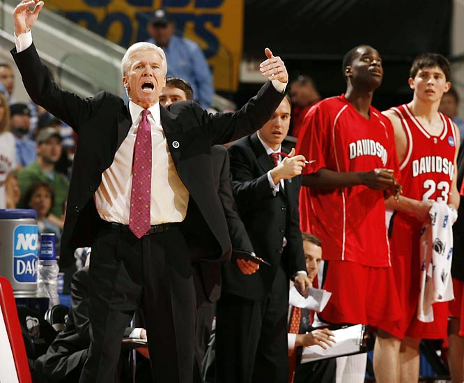 ''I'm numb right now. I'm a dreamer and I've been a dreamer my whole life. And for me to not think that we could get to this moment would be selling myself and the people who are behind me short.''<br><br>Davidson Coach Bob McKillop after being asked to put upset wins over Gonzaga and Georgetown into perspective.