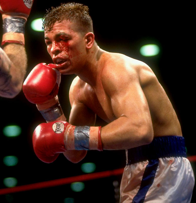 Considered one of the sport's most exciting fighters up until his 2007 retirement, Gatti held the junior lightweight and junior welterweight belts at various points during his 16-year career. But the fearless Garden State native is remembered for his willingness to take a couple shots in order to land a few of his own.