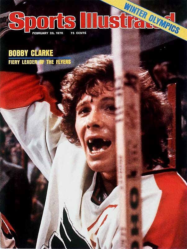 As the ringleader of the Broad Street Bullies, Clarke's hard-nosed work ethic reflected the blue-collar nature of Philadelphia; the city embraced the team accordingly. The Manitoba native spirited the Flyers to back-to-back Stanley Cups during the mid-`70s.