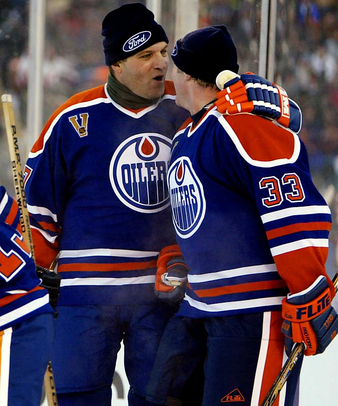 Known as Wayne Gretzky's bodyguard during the early-'80s, Semenko's circle of protection extended to  Edmonton's other star players. Promoters didn't fail to cash in on the left wing's reputation as a fighter, signing Semenko up to fight Muhammad Ali in a 1983 exhibition.