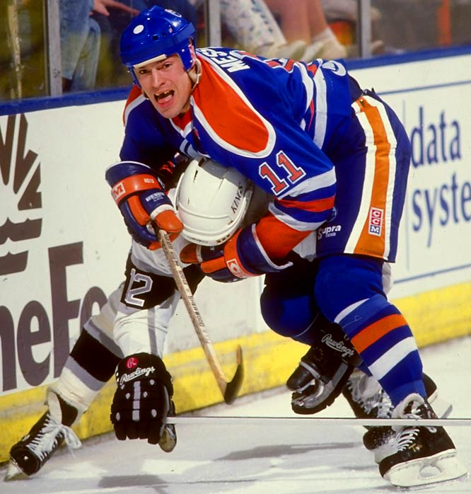 Messier established himself as one of hockey's all-time best during a 25-year career in the WHA and the NHL. The Edmonton native remains the lone pro athlete to captain two different teams (Oilers and Rangers) to Stanley Cup championships.