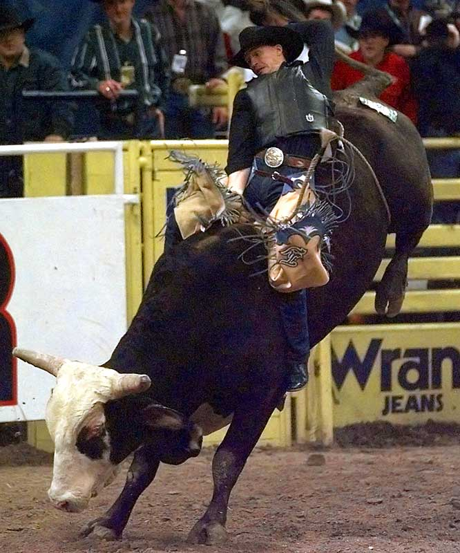 After becoming the youngest-ever PRCA All-Around Rodeo Cowboy, Murray won six consecutive World All-Around Rodeo Championships, from 1989 through 1994. A horrific series of injuries followed -- including a double knee reconstruction and a broken shoulder -- but a 1998 comeback ended with a record seventh All-Around title.