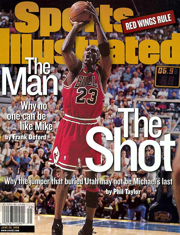 Trailing 86-85 with 15 seconds remaining, Michael Jordan shook free of Bryon Russell and hit a game-winning and series-winning 18-footer, Jordan's last shot as a Chicago Bull.<br><br>Which game would you add to the list? Send comments to siwriters@simail.com.