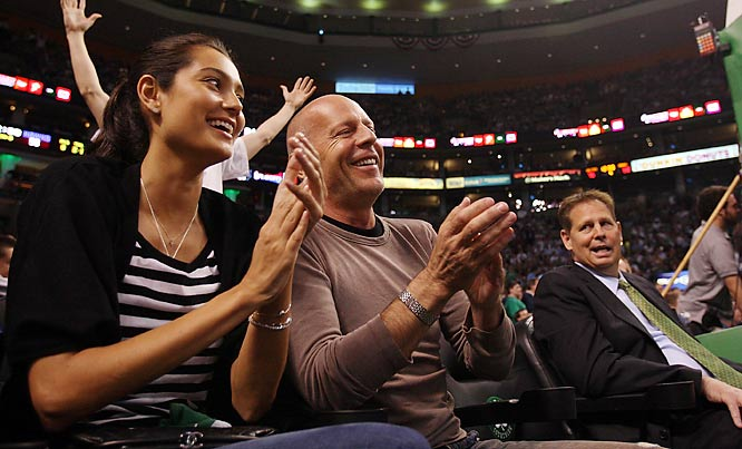 Celtics GM Danny Ainge must not be a big <i>Die Hard</i> fan.