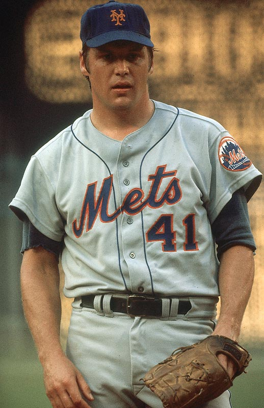 He used his power to baffle hitters as well as resurrect the Mets franchise. During his 20-year career, Seaver racked up 3,640 K's, including an NL record 3,272 strikeouts.