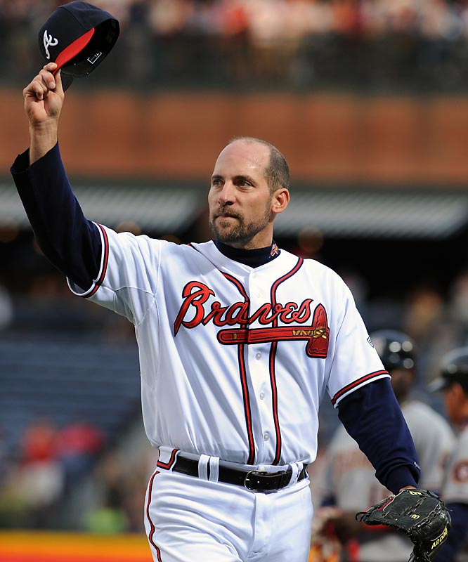 Smoltz got his 3,000th strikeout on Aprill 22, 2008, against the Nationals. Smoltz, who trails just Greg Maddux in active strikeouts, is the sixth fastest to reach the mark.