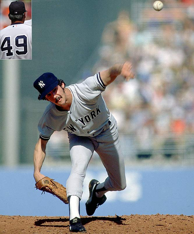 His 1978 season: 25-3 with a 1.74 ERA, 16 complete games and nine shutouts.  Runner-Up: Larry Dierker  Worthy of consideration:  Charlie Hough and Tim Wakefield