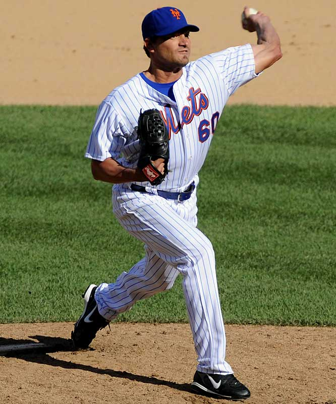 Since helping the Angels to their first World Series title as a fourth-year reliever in 2002, Schoeneweis has done tours with the White Sox, Blue Jays, Reds, Mets and Diamondbacks.   Runner-up: Manny Corpas