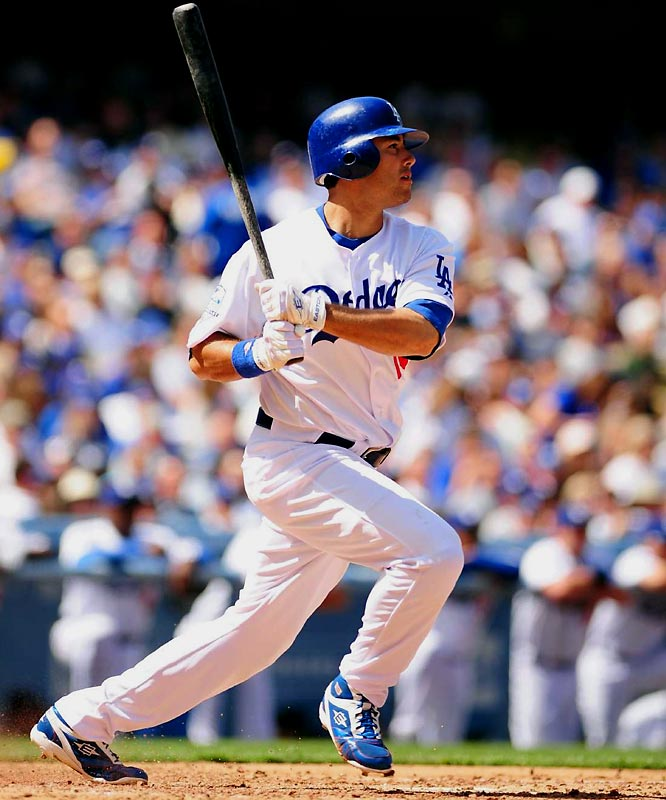 After fellow outfielder Matt Kemp suffered an injury at the start of last season, Ethier filled in admirably, batting .284, belting 13 home runs while driving in 64 runs. He beat out veteran Juan Pierre for the starting job in left field this spring.