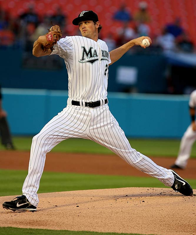 A 22-year-old southpaw with good size at 6-6, Miller is another bright spot for the Marlins from their offseason blockbuster trade. As a junior at North Carolina, Miller had an impressive 13-2 record, 2.48 ERA and a school-record 133 strikeouts.