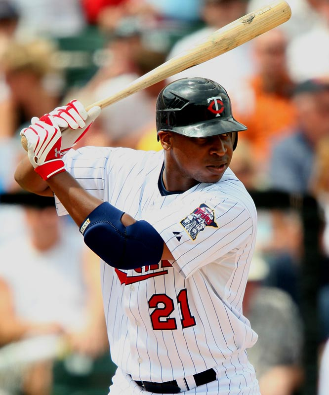 A fresh start on a new team may be just what the troubled outfielder needs to develop his talent. Hitting in a lineup behind Justin Morneau can't hurt either.