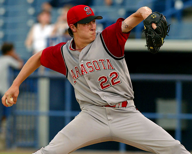 He went 4-2 in nine games as a rookie in 2007, and his power arm makes him one of the top pitching prospects in the National League.