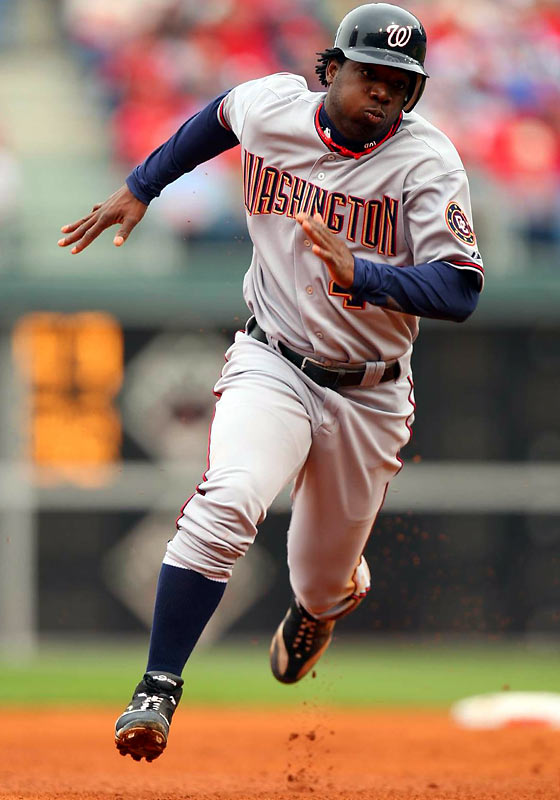 Washington fans have not only been treated to a new state-of-the-art stadium, but also a potential star for years to come in Lastings Milledge, whose two-run shot was instrumental in the Nats' 11-6 win over the Phillies in just the second game of the season.