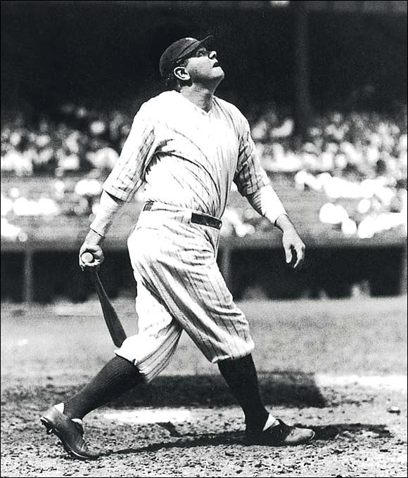 Red Sox owner Harry Frazee sold Babe Ruth's contract to the Yankees for $100,000. The Curse of the Bambino was born.