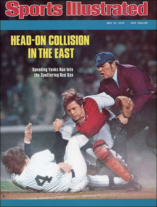 The rivalry had a rebirth of sorts when the Yankees' Lou Piniella tried to run over Red Sox catcher Carlton Fisk at the plate. A brawl broke out, during which New York's Mickey Rivers sucker punched Boston's Bill Lee, who had to go on the disabled list until September with a separated pitching shoulder.