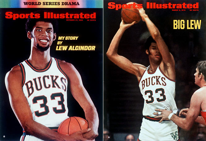 <i>1968-69</i>: 27-55 <br><i>1969-70</i>: 56-26 (29 more wins)<br><br>After winning a coin flip with the Suns for the No. 1 pick, the Bucks drafted Lew Alcindor. The 7-foot UCLA star would go on to win Rookie of the Year while joining with Bob Dandrige and Flynn Robinson to lead Milwaukee to the Eastern Conference finals.
