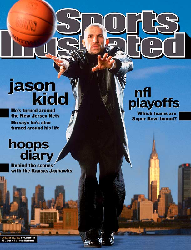 <i>2000-01</i>: 26-56 <br><i>2001-02</i>: 52-30 (26 more wins)<br><br>For the second time in his career, Jason Kidd engineered an incredible turnaround. Kidd (acquired in a trade with the Suns for Stephon Marbury) joined with second-year forward Kenyon Martin and rookie forward Richard Jefferson to form a devastating fast-break attack that carried the long-suffering Nets to the first of two consecutive NBA Finals appearances.