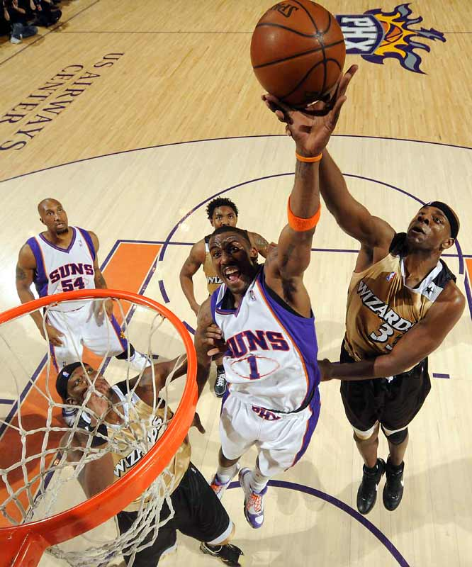 Stoudemire, who has split time at power forward and center, ranks in the top six in scoring, blocked shots and shooting percentage.