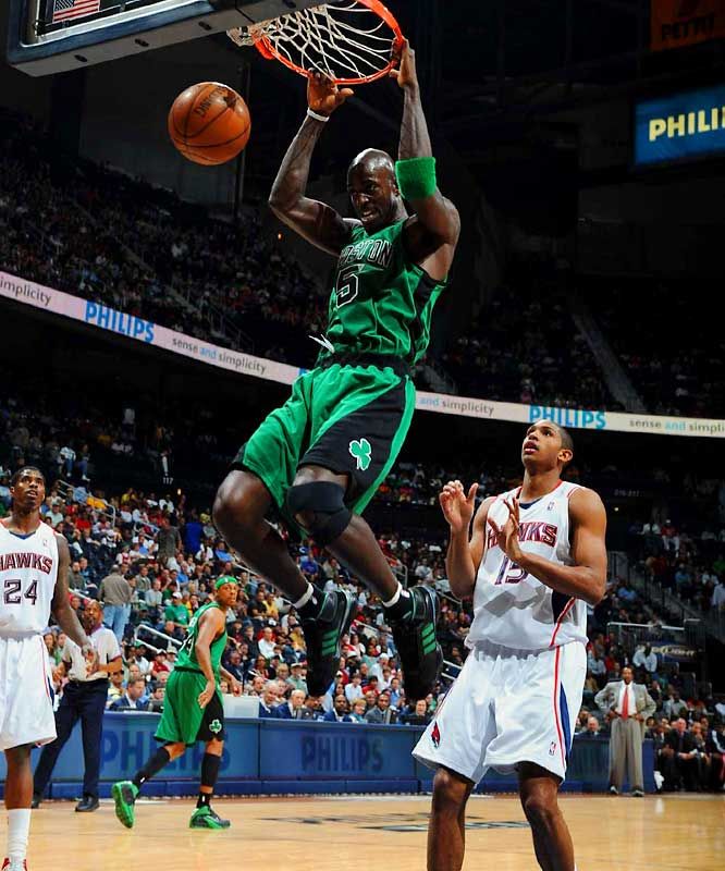 Garnett has transformed the Celtics in all kinds of ways, and he is the closest thing there is to Bill Russell in the modern NBA.