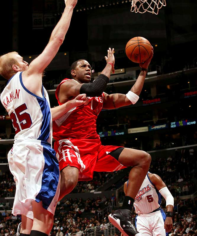McGrady noses ahead of Allen Iverson and Baron Davis because of the meaningful work he's done to lead the Rockets into the playoffs since the season-ending foot injury to Yao Ming.